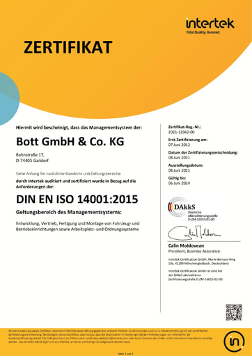 Intertek ISO14001
